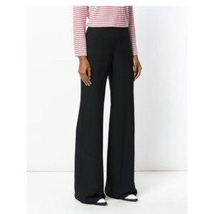 NEW Armani Collezioni Dark Blue Flare Pants